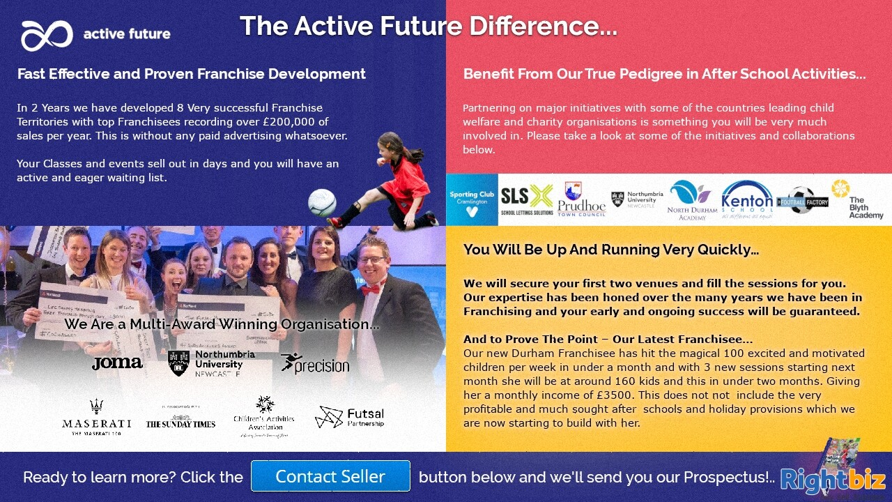 Award Winning After Schools Activities Franchise Guaranteed 100% Govt Funding in St Asaph - Image 3