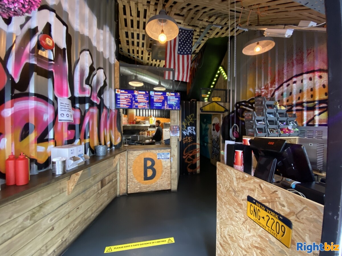 Established burger restaurant in Shrewsbury town centre. Cheap rent and rates and good turnover. - Image 3
