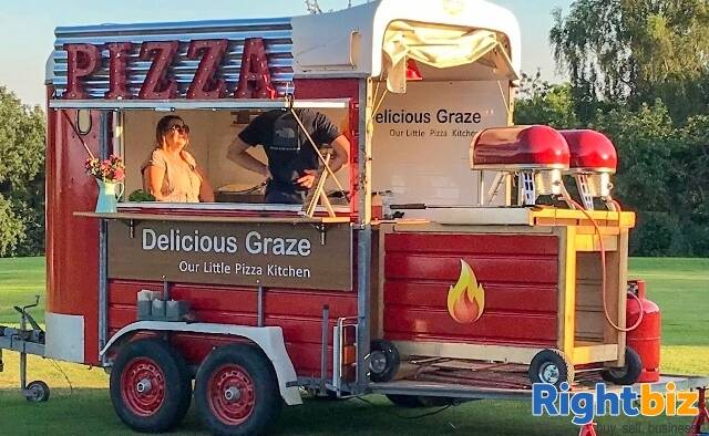 External Pizza Catering Business for Weddings & Events in Shropshire - Image 3