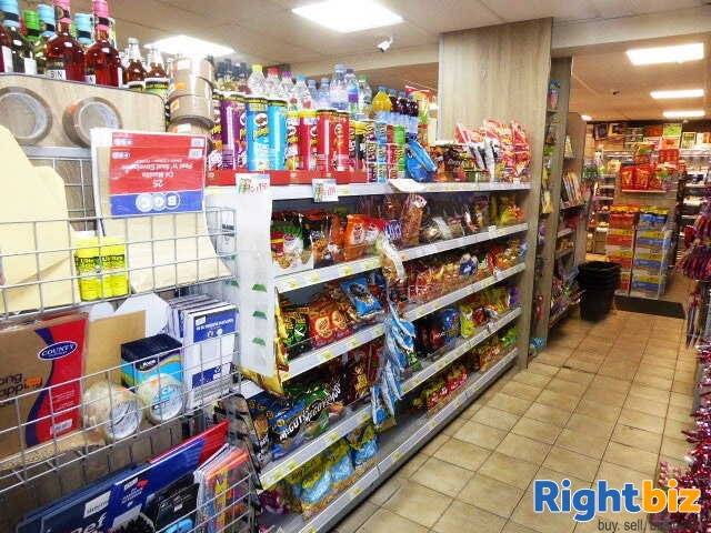 Self Service Convenience Store, News, Confectionery, Tobacco, Full Free Off Licence With Post Office Local Plus With On Line National Lottery Sales &  - Image 3