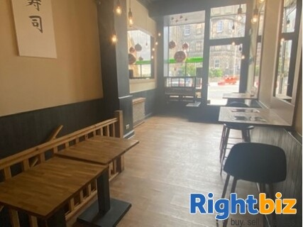 Very Popular Sushi Restaurant and Takeaway in Great Condition Edinburgh - Image 3