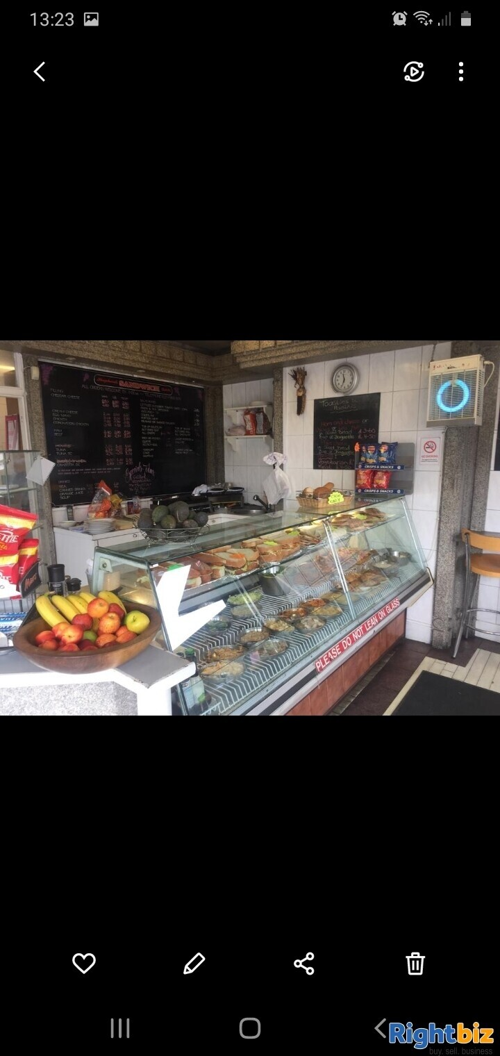 Leasehold sandwich bar for sale in Northwest London - Image 3