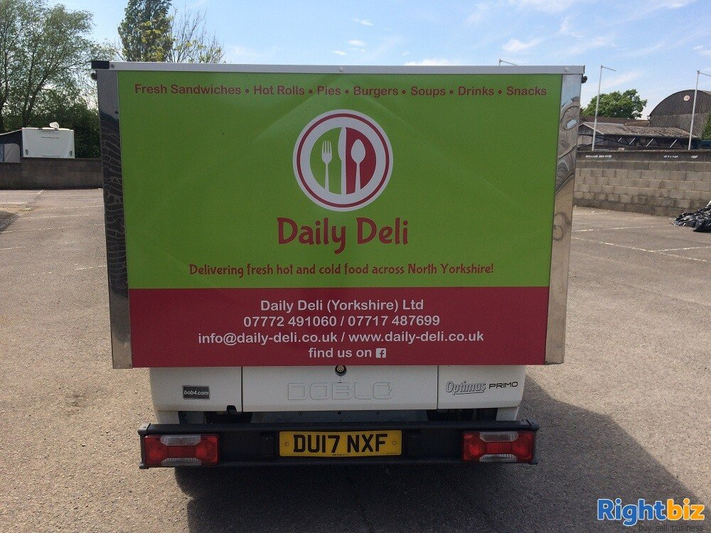 Well-known Mobile Sandwich Van & Hot Food Delivery Business - Image 3