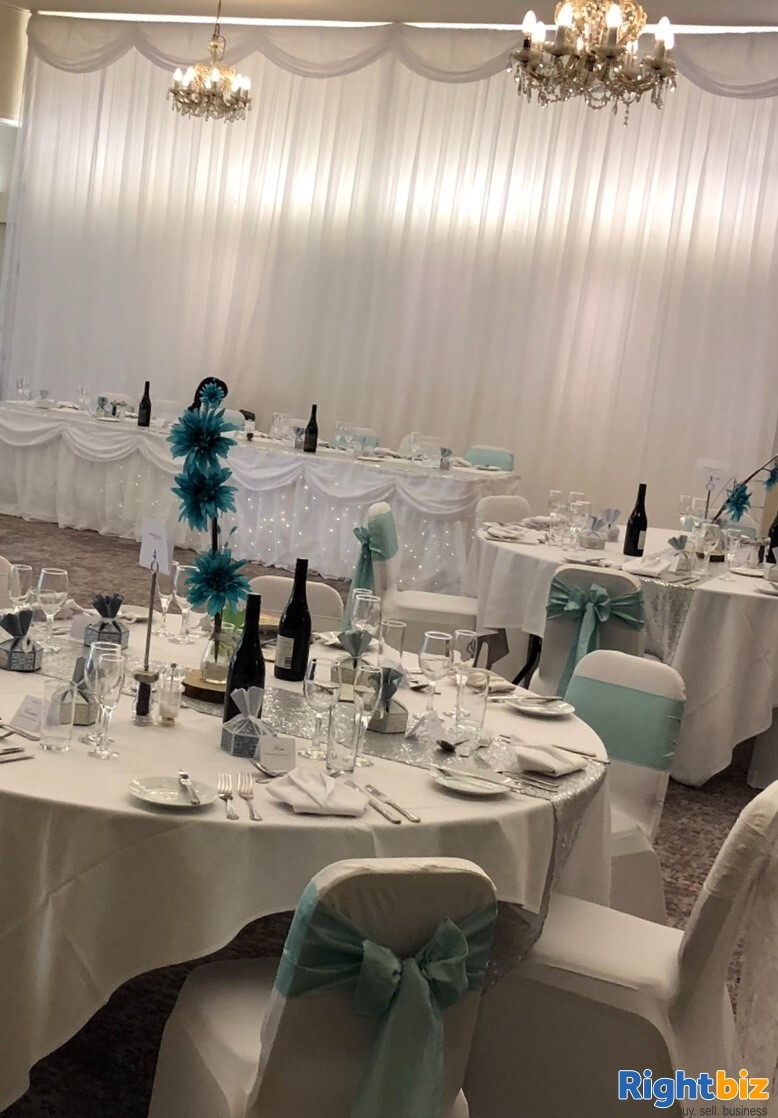 Venue Decoration and Chair Cover Hire - Image 3