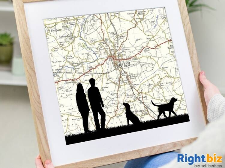 Extremely popular unique personalised gift business for sale - Image 3