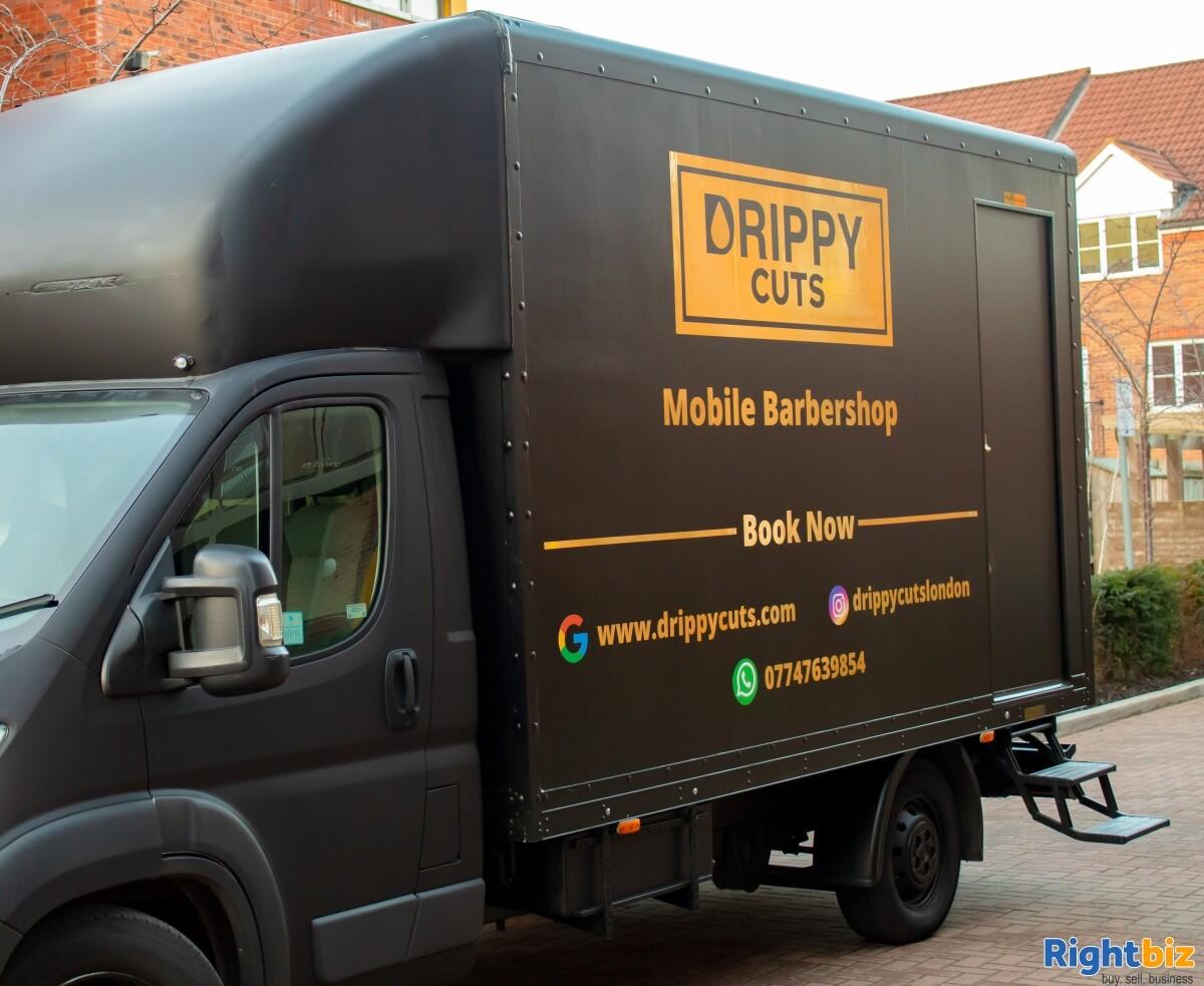 Luxurious Mobile Barbershop Van For Sale - Image 3