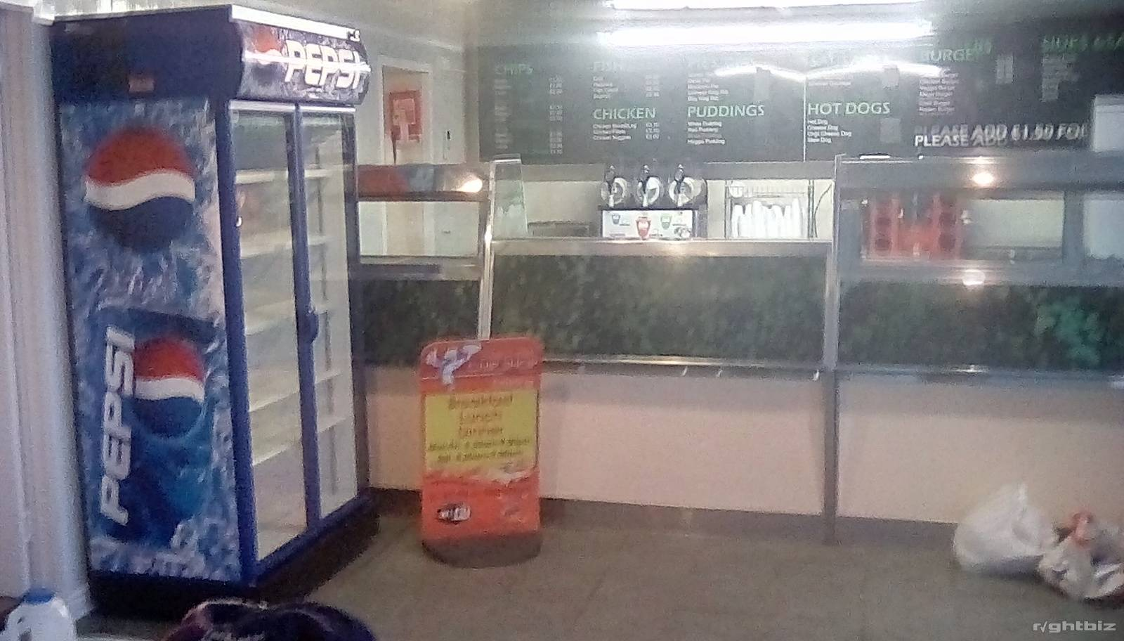 Fish and chip shop for sale or lease in Stornoway on the Island of Lewis. been trading for over 50 - Image 4