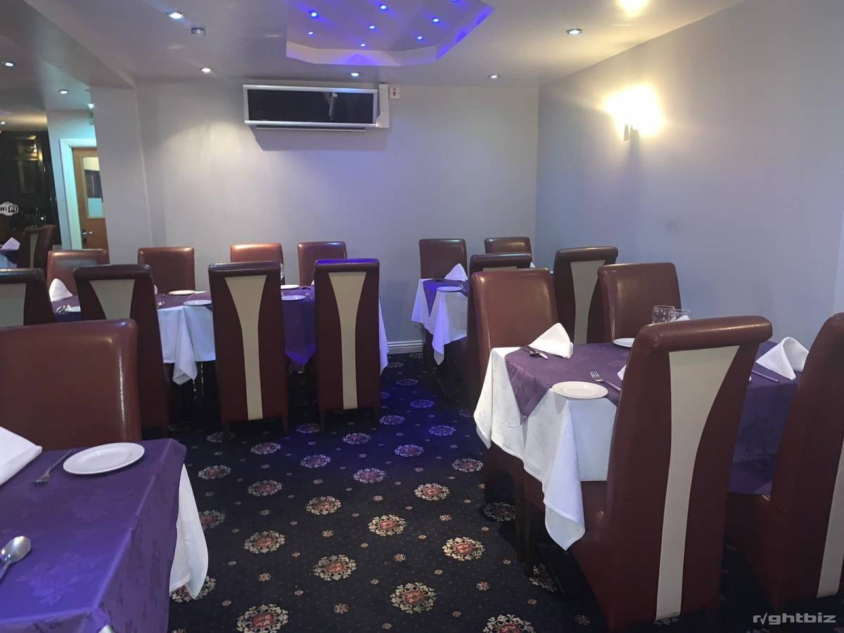 Indian restaurant Stourbridge west midlands very good location high street with rear parking - Image 4
