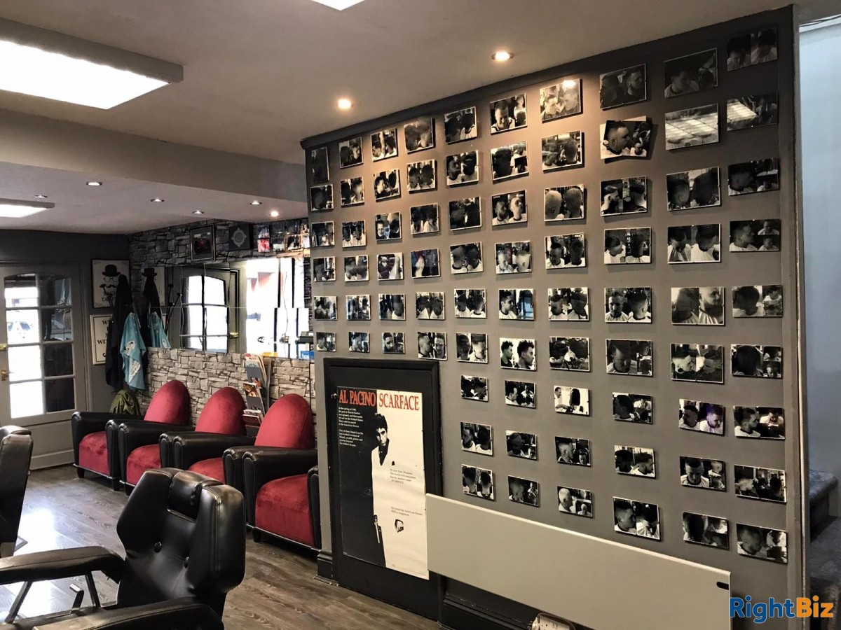 Well established busy Barber shop for sale - Image 4