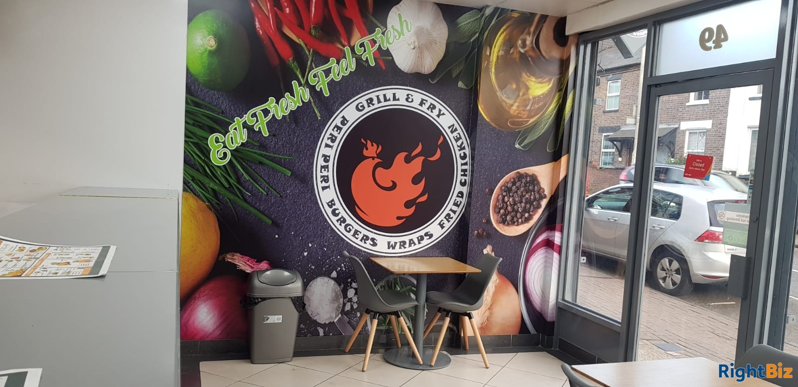 Running Chicken peri-peri shop for sale - Image 4