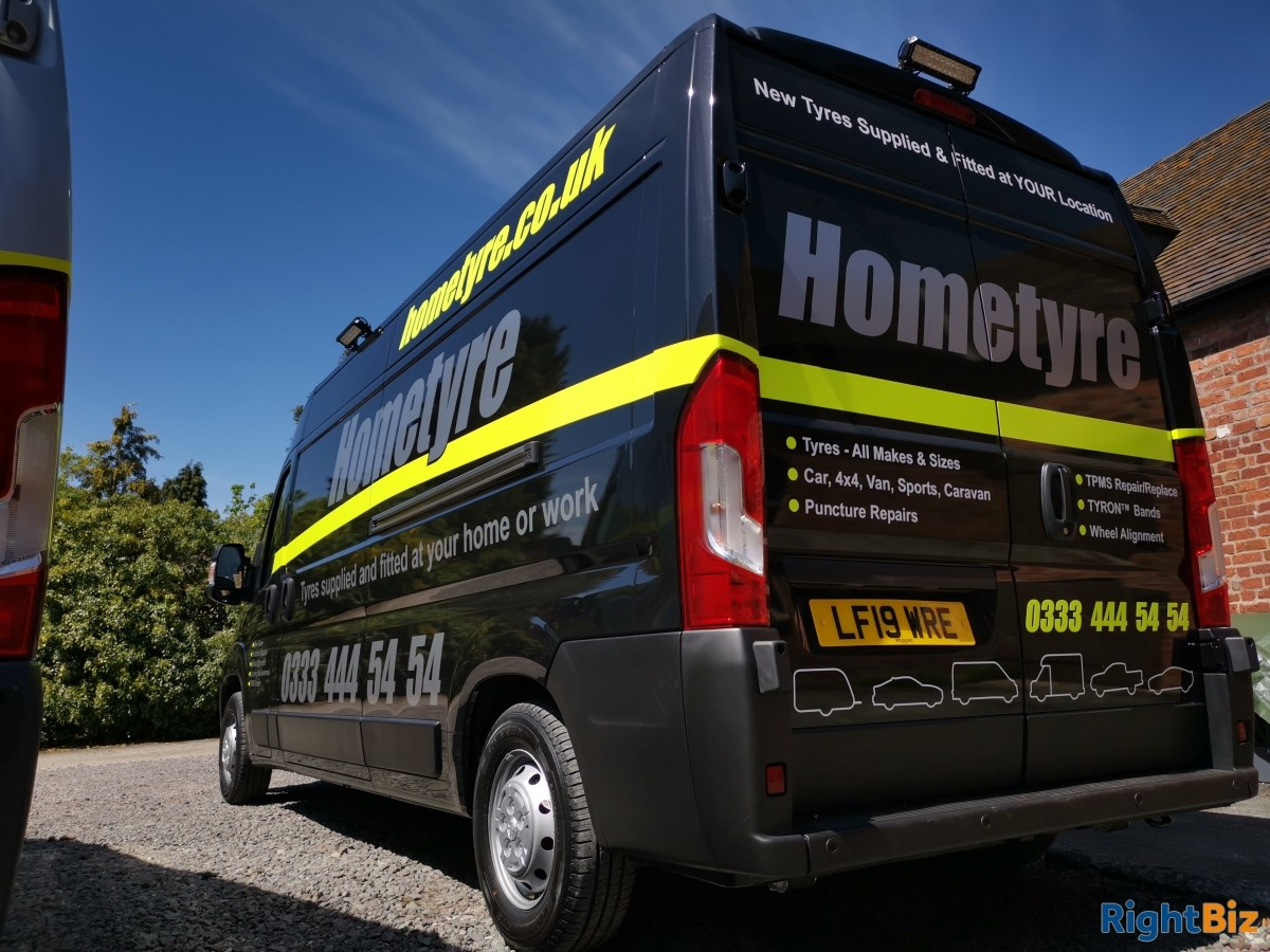 Well established mobile tyre service franchised business covering a wide area of North Hants. - Image 4