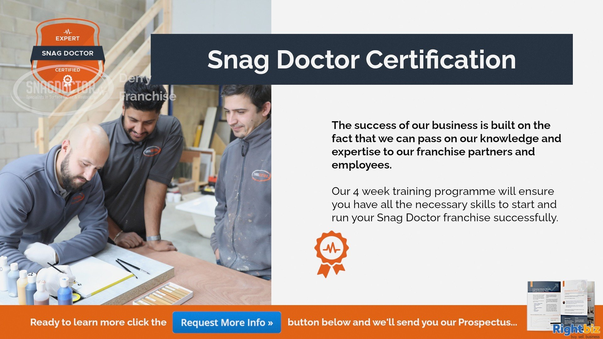 Snag Doctor 100% Govt Funded Franchise in Derry With Huge Demand from Major House Builders - Image 4