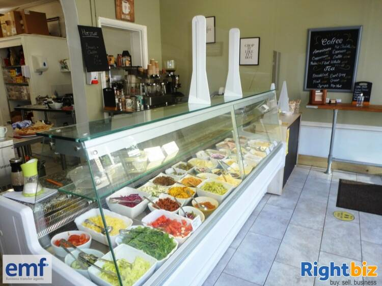 SANDWICH BAR/FOOD TO GO/COFFEE BAR outlet, edge of TAUNTON town centre - Image 4