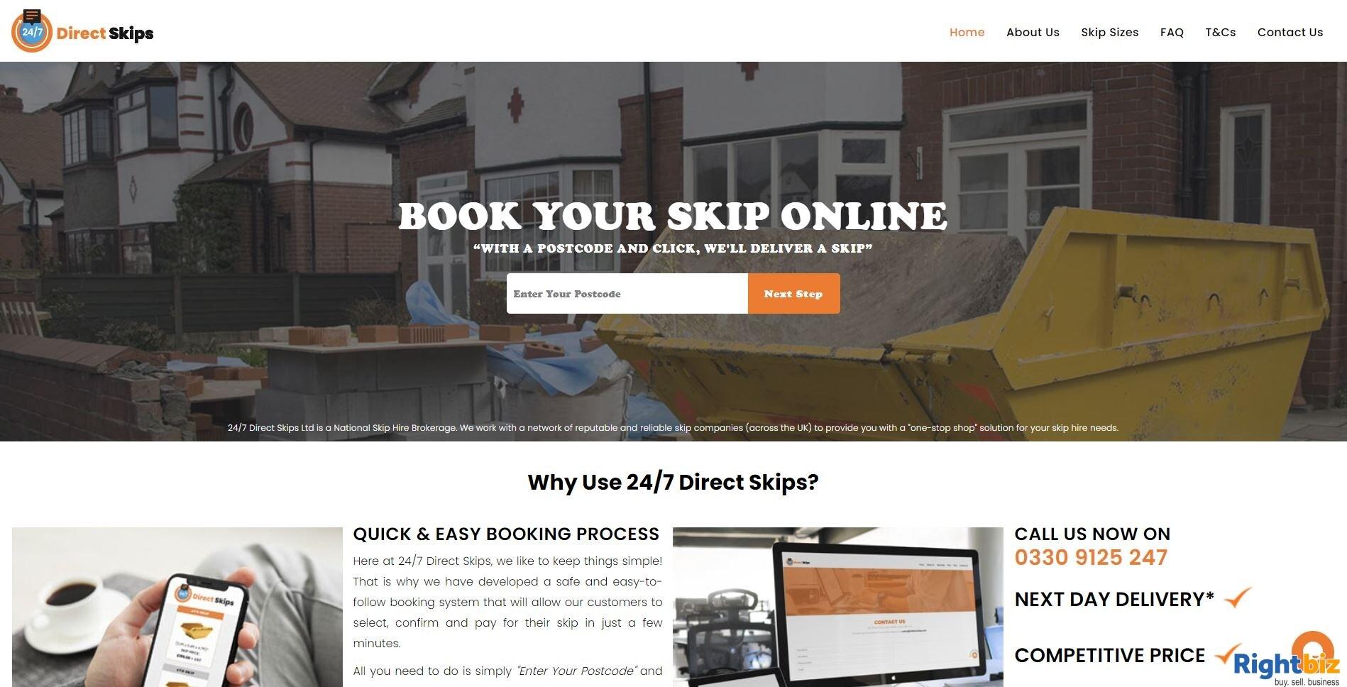 Skip Hire (Brokerage) Business for Sale - 247 Direct Skips Ltd - Image 4