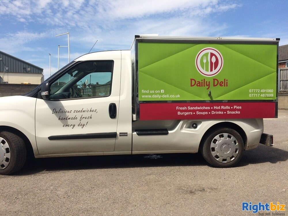 Well-known Mobile Sandwich Van & Hot Food Delivery Business - Image 4