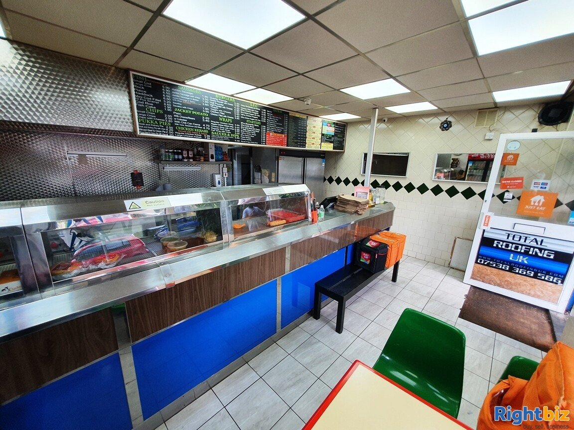 FISH & CHIP SHOP WITHIN BUSY RESIDENTIAL PARADE- £5,000 PER WEEK - £20,000 REFURBISHMENT - Image 4