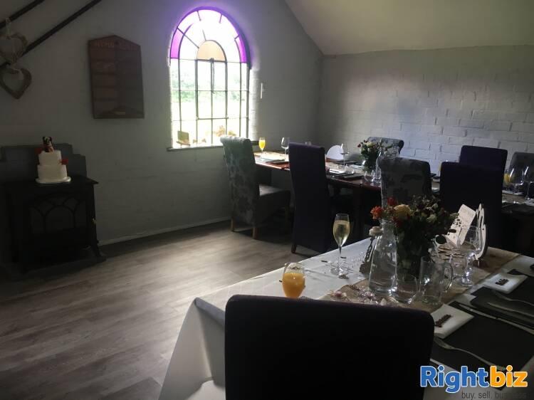 Licensed Restaurant in Renovated Former Church in Telford - Image 4
