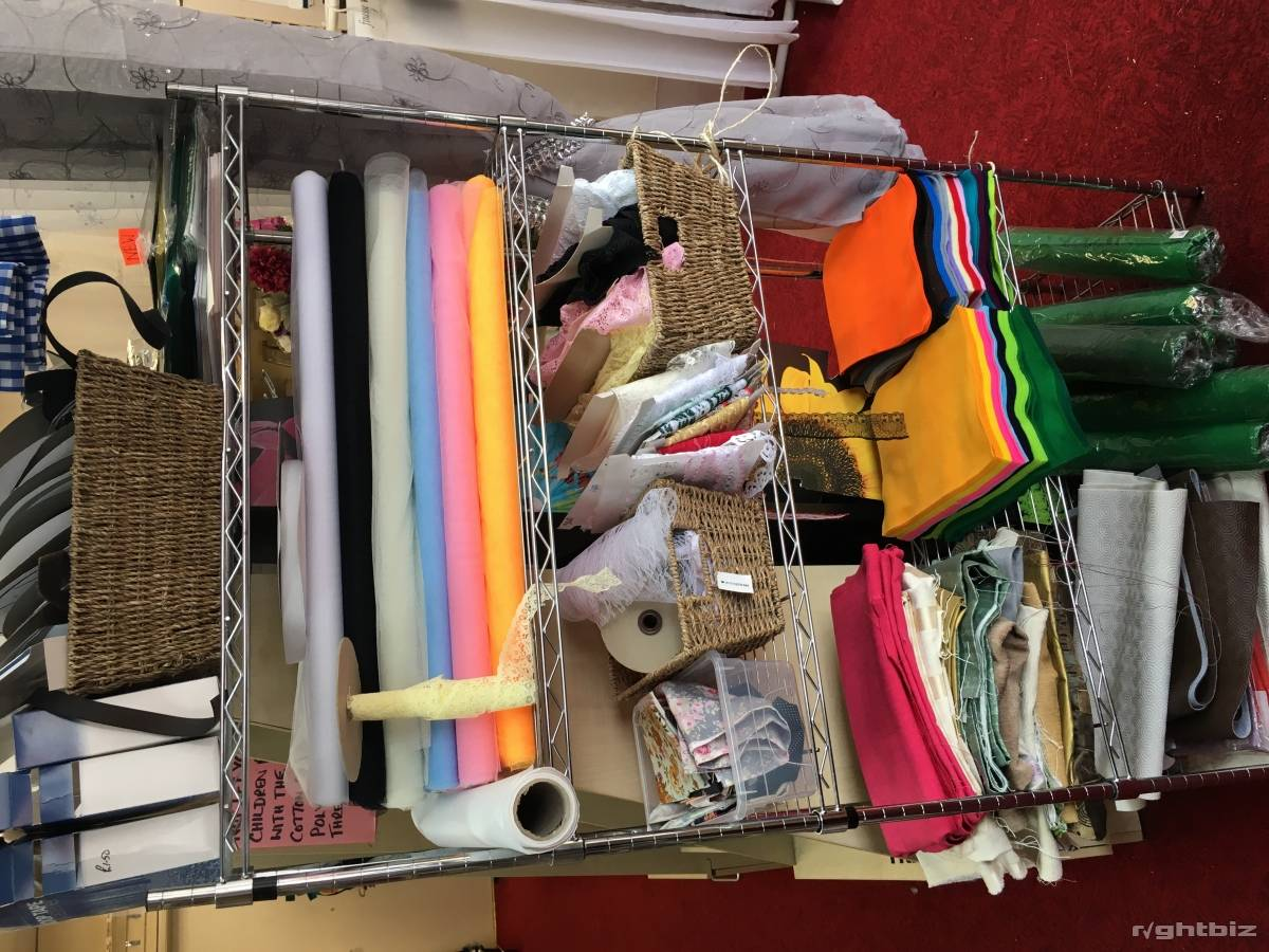 Haberdashery, Net, Curtains, craft and yarns. In shopping centre - Image 5