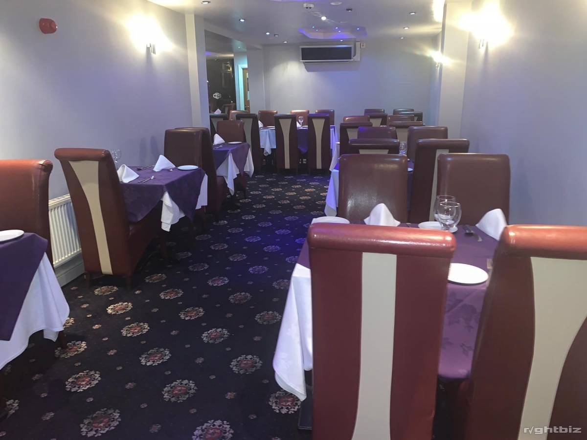 Indian restaurant Stourbridge west midlands very good location high street with rear parking - Image 5
