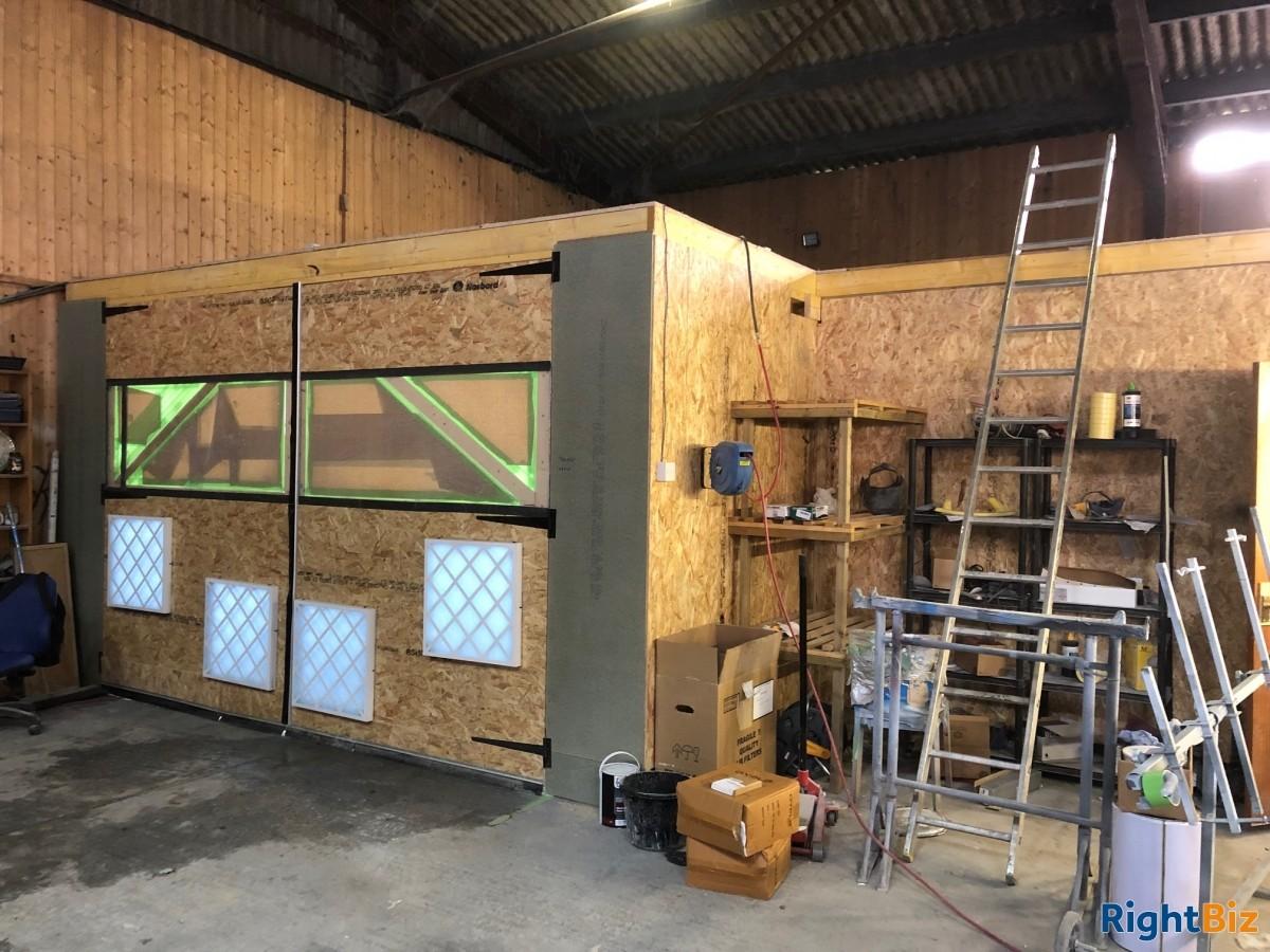Paint shop & valeting centre for sale - Image 5