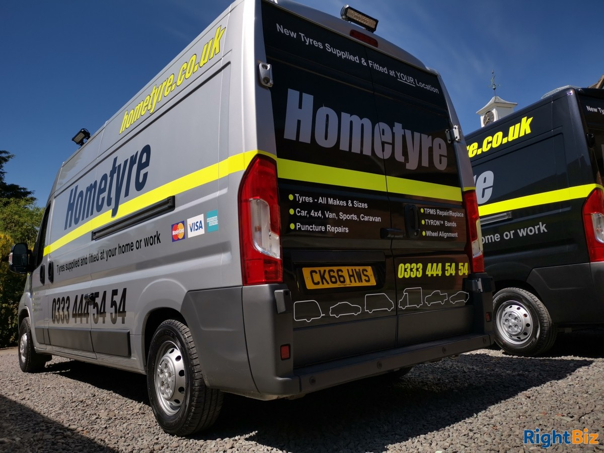 Well established mobile tyre service franchised business covering a wide area of North Hants. - Image 5