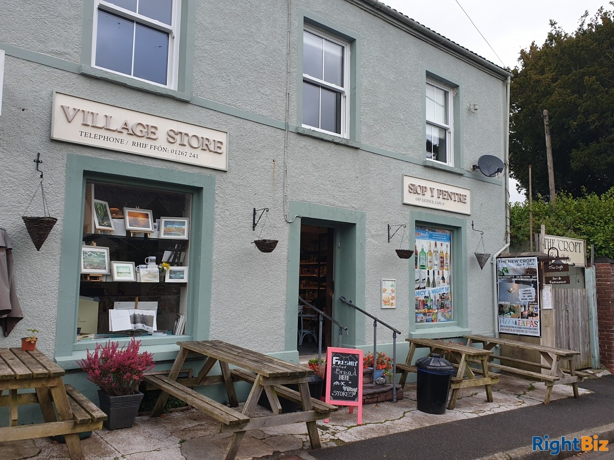 Coastal village shop with Free House bar & restaurant with accommodation. - Image 5