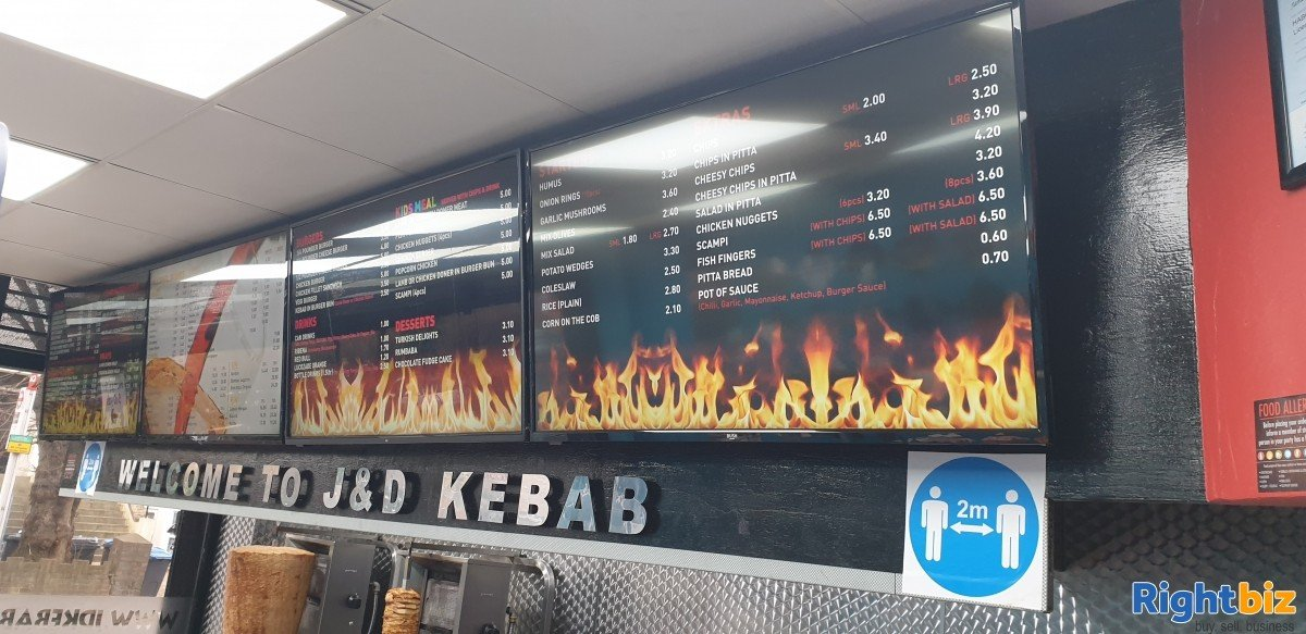 Kebab takeaway for sale to rent in London - Image 5