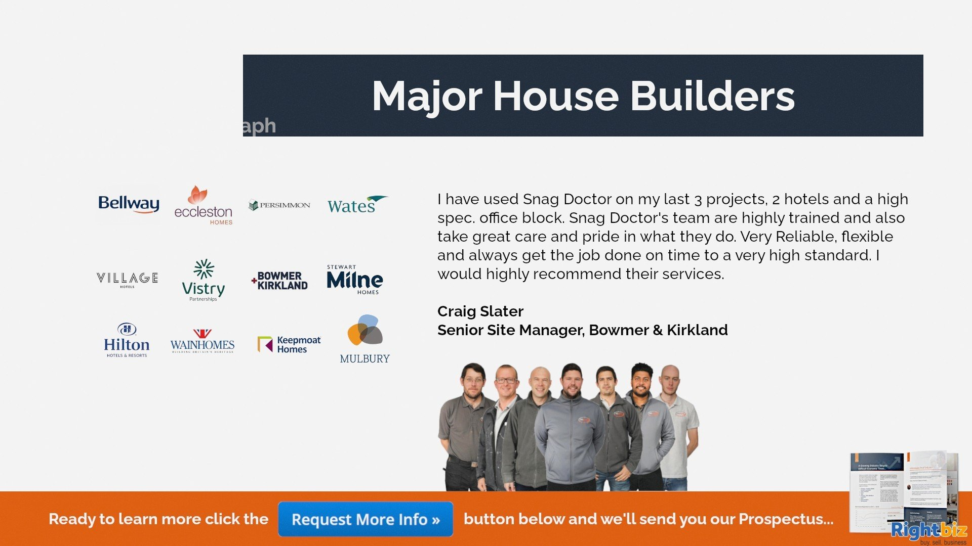 Snag Doctor 100% Govt Funded Franchise in Saint Asaph With Huge Demand from Major House Builders - Image 5