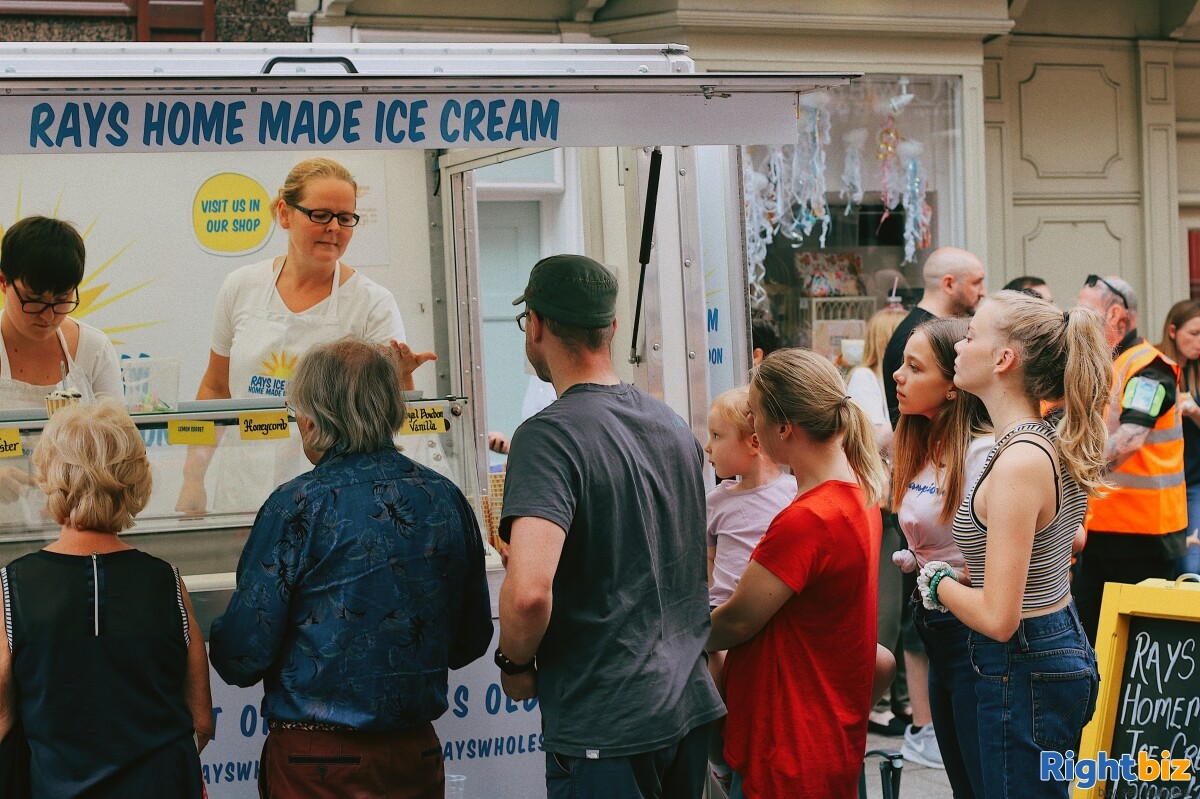 Growing, premium ice cream business - parlour, manufacturing, wholesale, events - Image 5