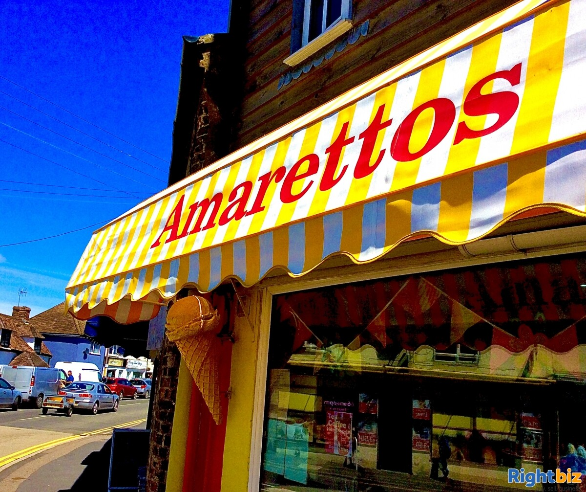 FREEHOLD ICE CREAM SHOP WITH 1 BED ACCOMMODATION FOR SALE DYMCHURCH KENT SOUTH COAST - Image 5