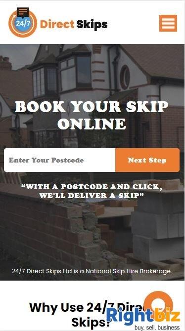 Skip Hire (Brokerage) Business for Sale - 247 Direct Skips Ltd - Image 5