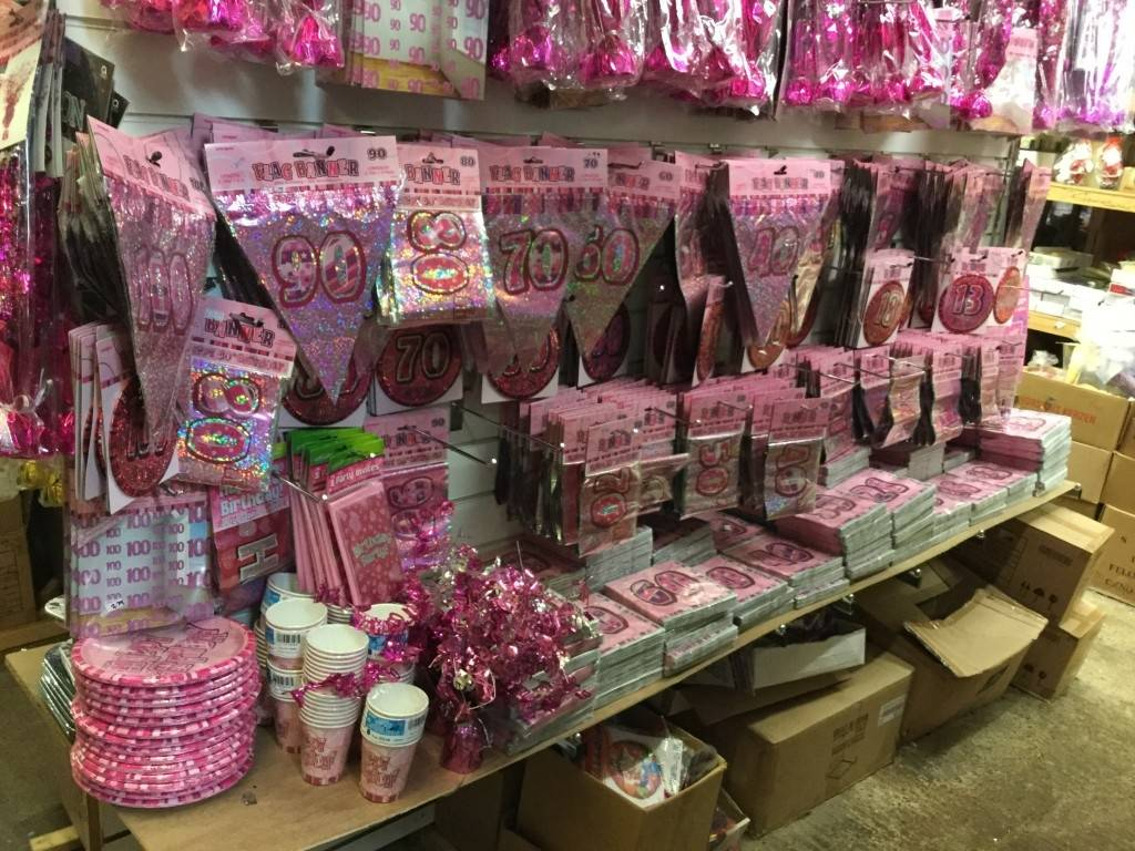 Well Stocked & Busy Party Accessories Shop - Image 6