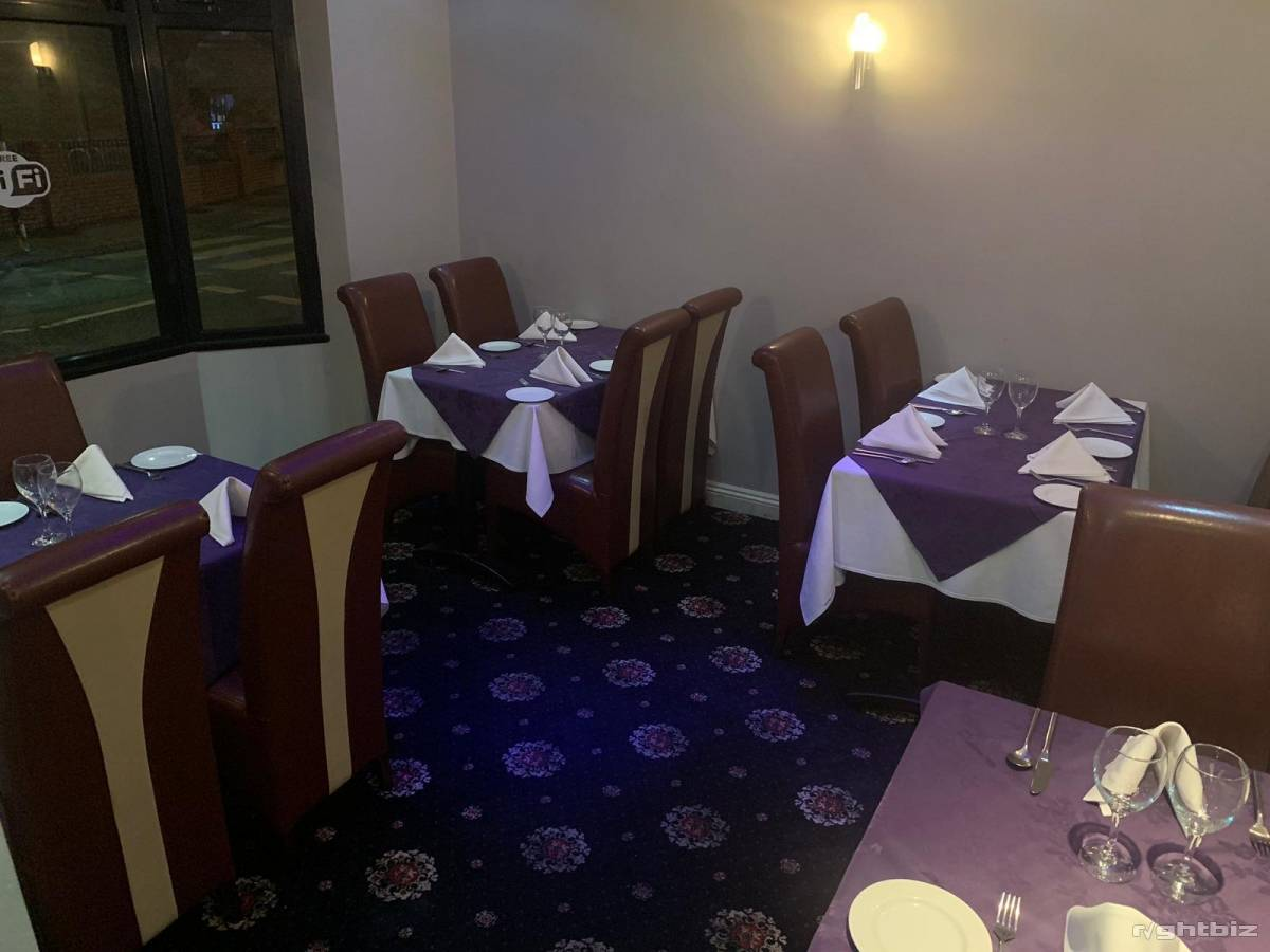 Indian restaurant Stourbridge west midlands very good location high street with rear parking - Image 6