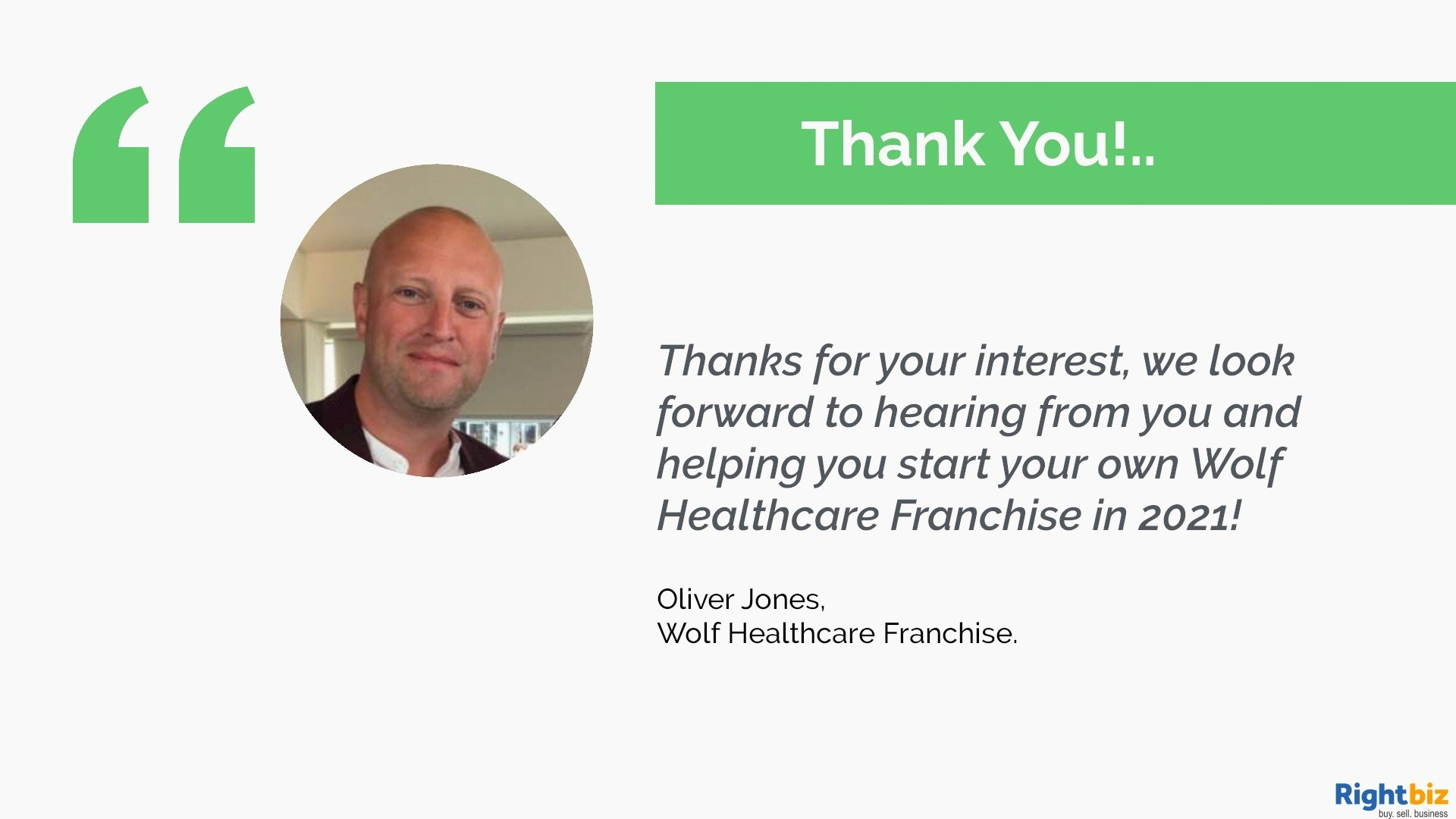 Join One Of The UK's Fastest Growing Franchises Wolf Healthcare Recruitment Bury - Image 6