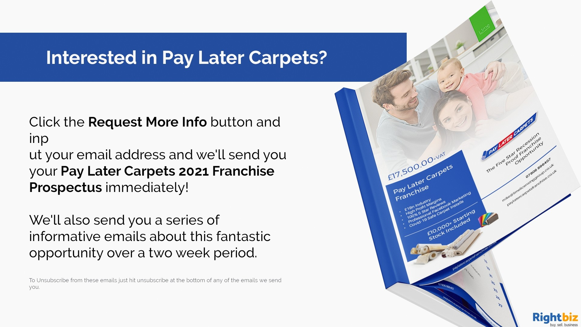 Pay Later Carpets Franchise Derry Our First Franchisee Made £11,000+ Profit in Month One - Image 6