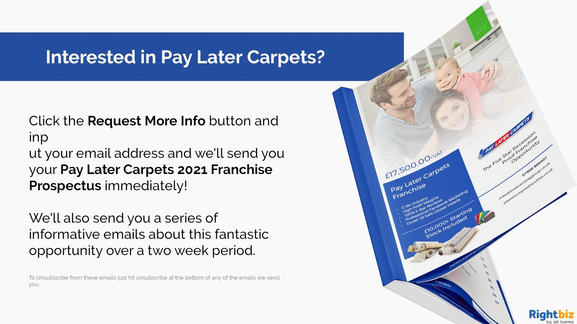 Pay Later Carpets Franchise St Asaph Our First Franchisee Made £11,000+ Profit in Month One - Image 6