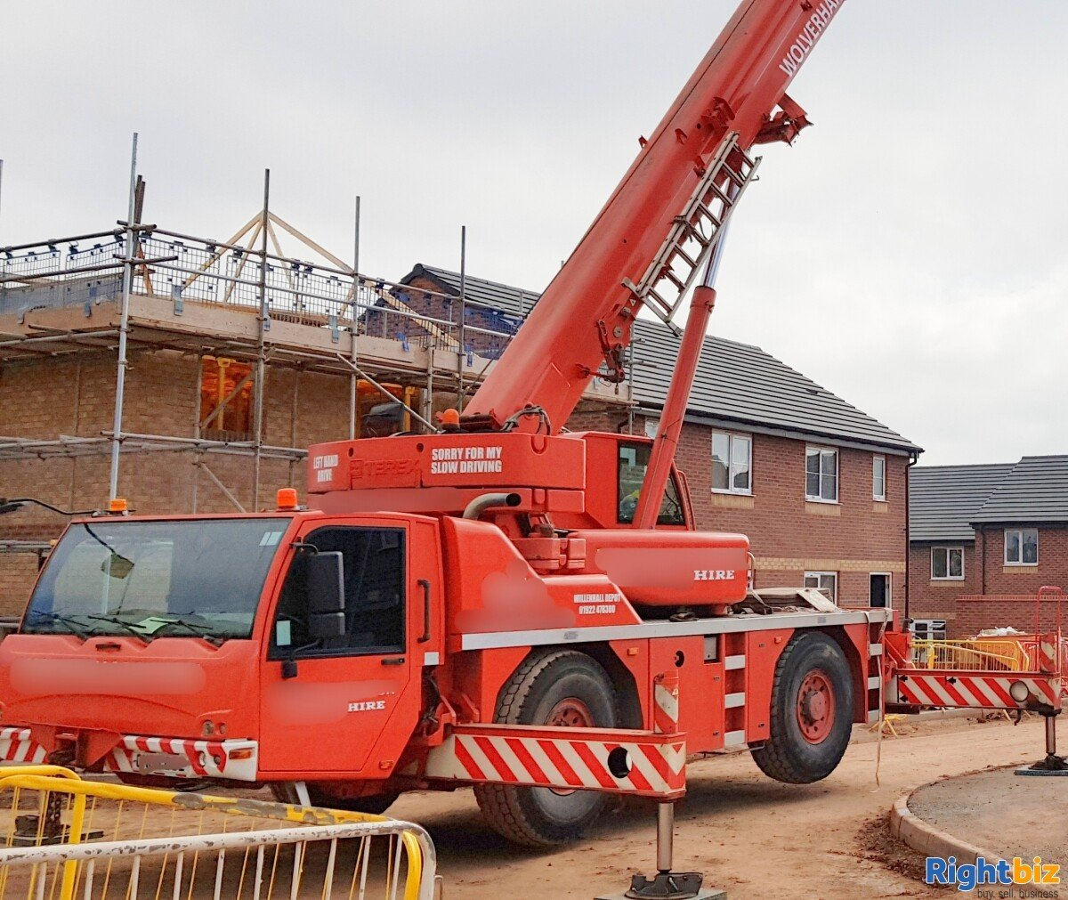 Profitable Haulage and Crane Hiring Business for sale in Wolverhampton, Construction Business - Image 6