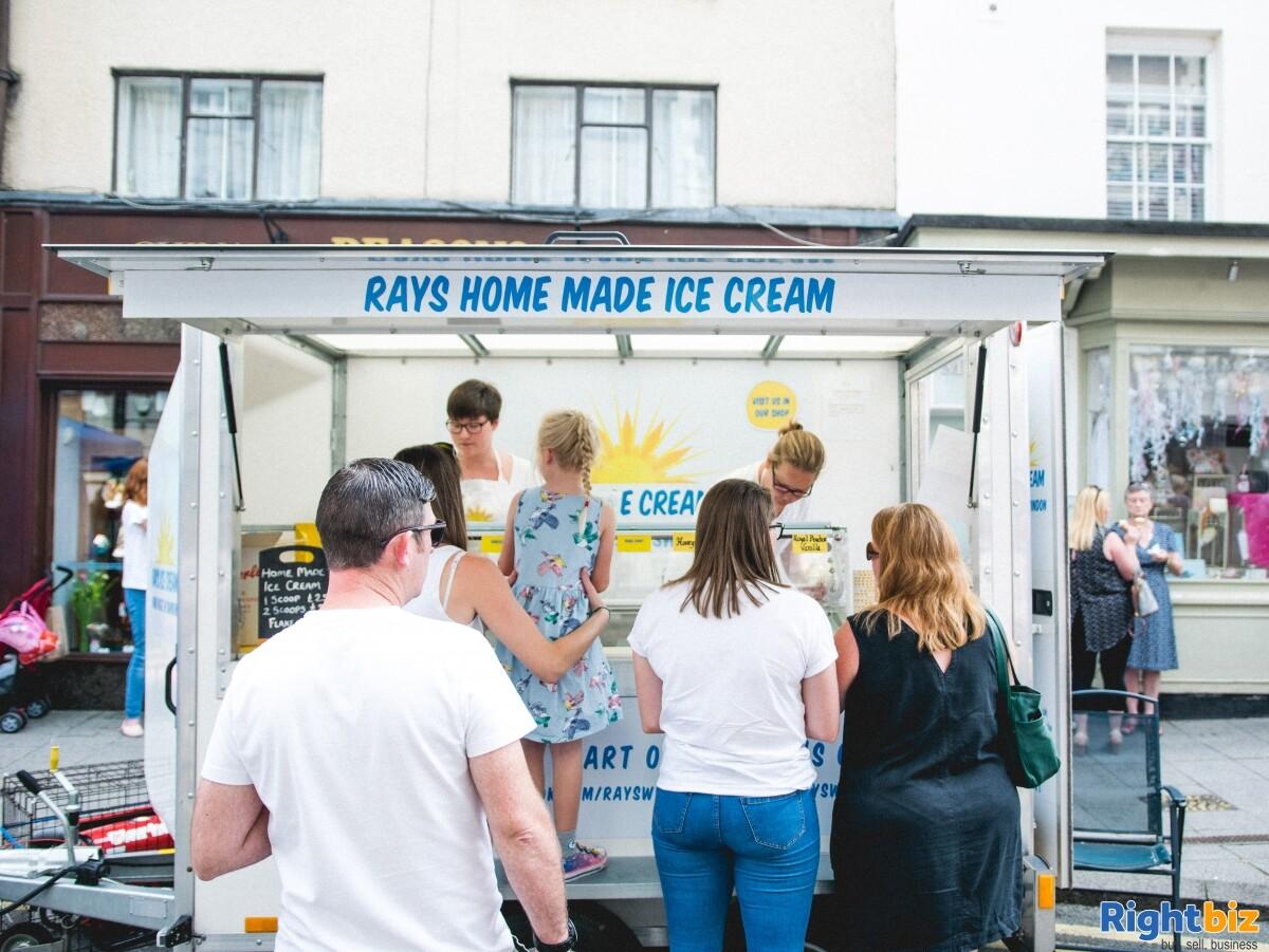 Growing, premium ice cream business - parlour, manufacturing, wholesale, events - Image 6