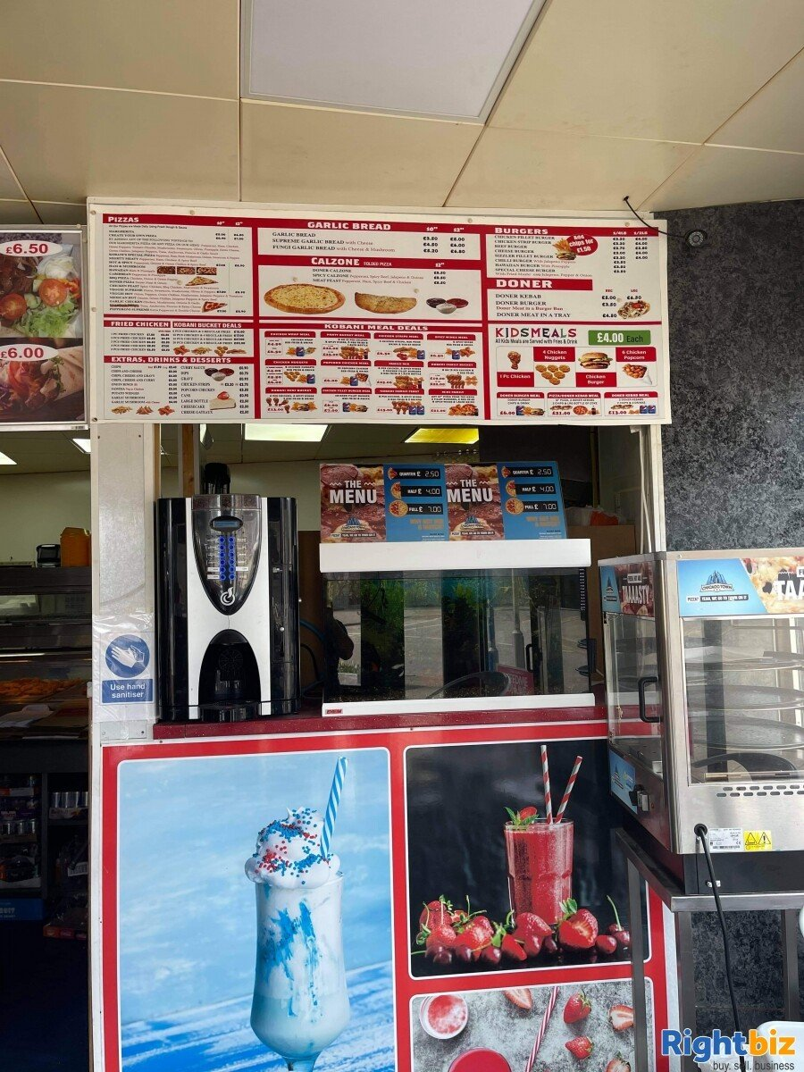 Takeaways Chicken pizza kebab shawarma business for sale - Image 6