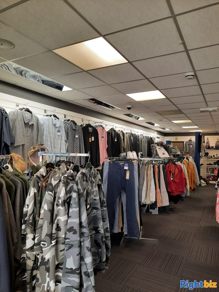 Leasehold clothes shop for sale Winsford Cheshire - Image 6
