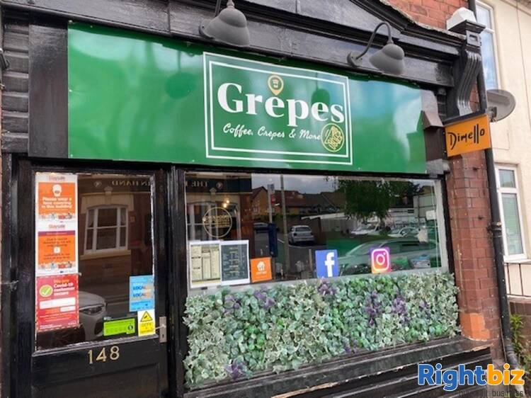 Leasehold Crepe Bar & Coffee House Located In Stourbridge - Image 6