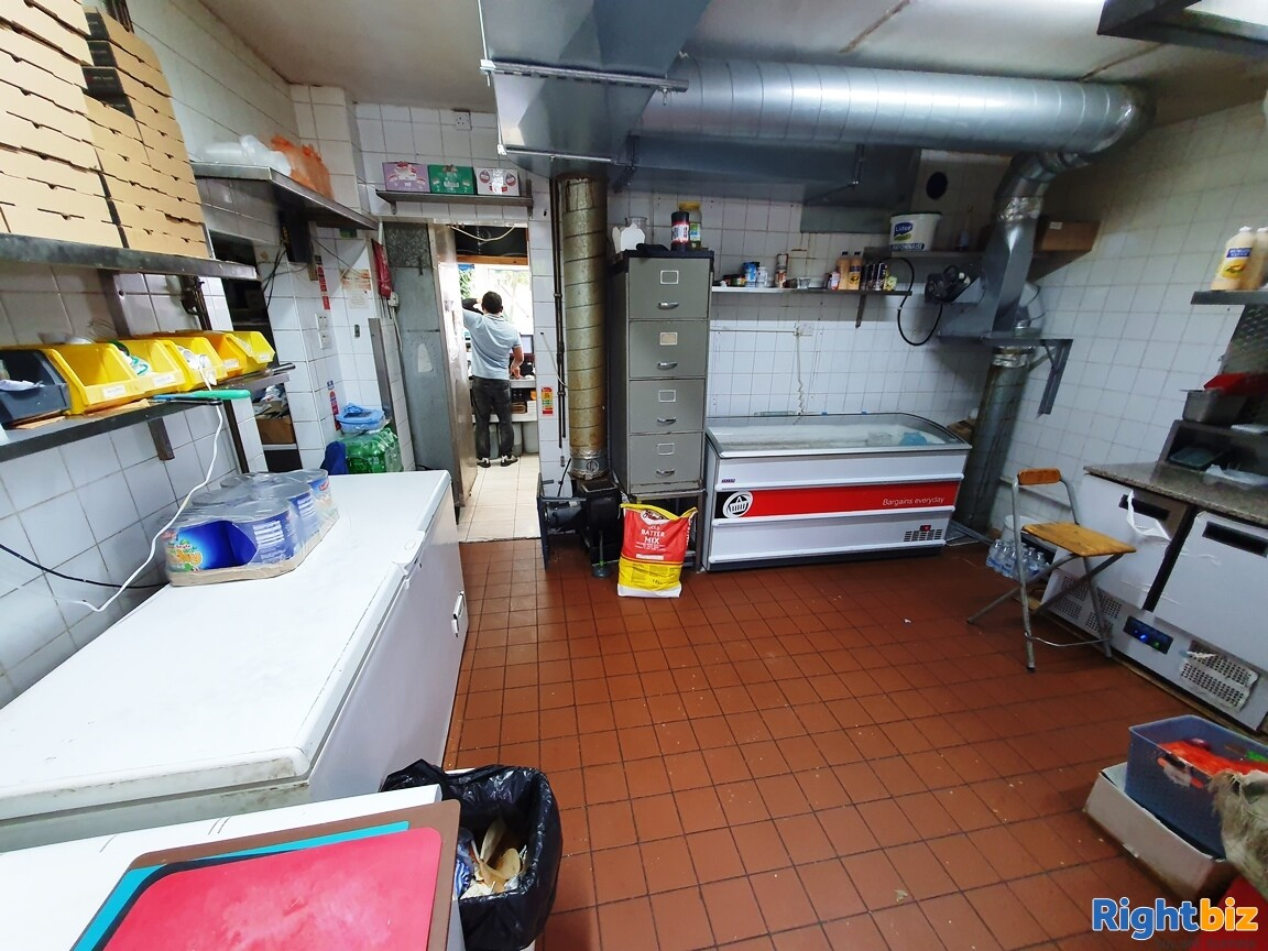 FISH & CHIP SHOP WITHIN BUSY RESIDENTIAL PARADE- £5,000 PER WEEK - £20,000 REFURBISHMENT - Image 6