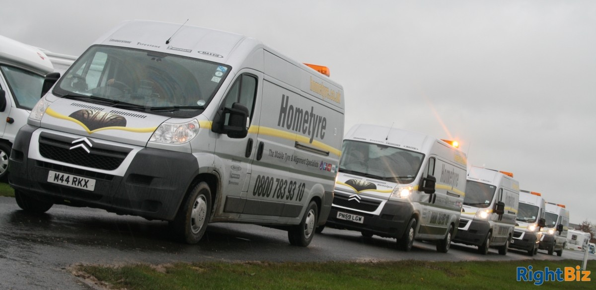 Well established mobile tyre service franchised business covering a wide area of North Hants. - Image 7