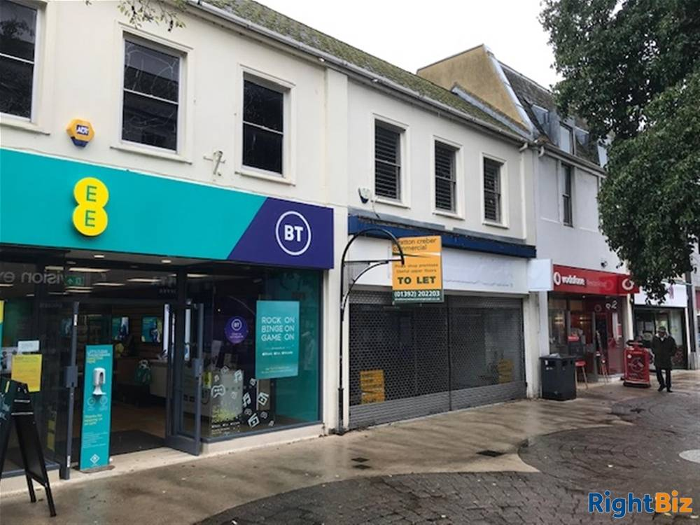 Primary Retail Trading Premises To Let For Sale in Newton Abbot - Image 7
