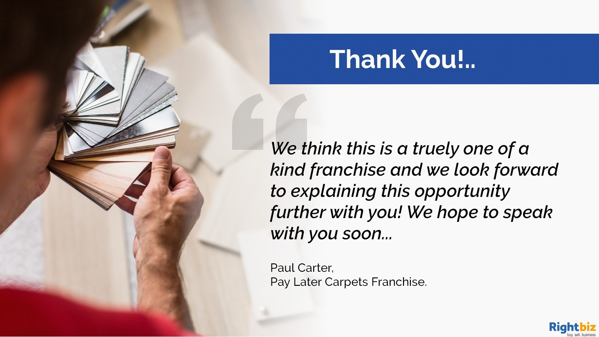 Pay Later Carpets Franchise St Asaph Our First Franchisee Made £11,000+ Profit in Month One - Image 7