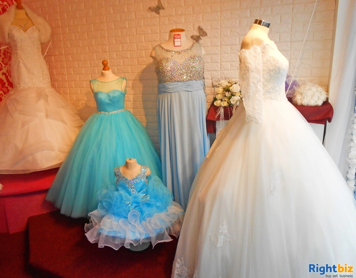 Fully Equipped Bridal Wear Boutique Retail Business for Sale in Wolverhampton - Image 7