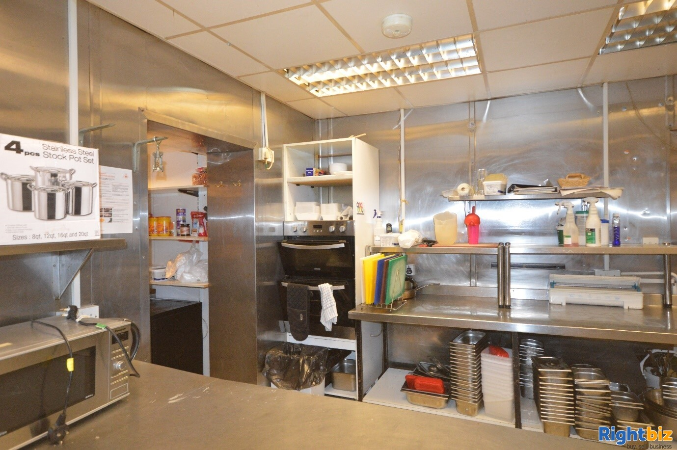 Full Class 3 hot food takeaway in Edinburgh city centre (ref 1396) - Image 7