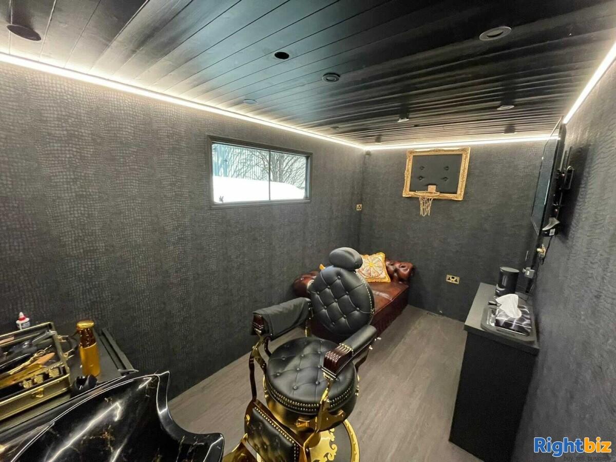 Luxurious Mobile Barbershop Van For Sale - Image 7