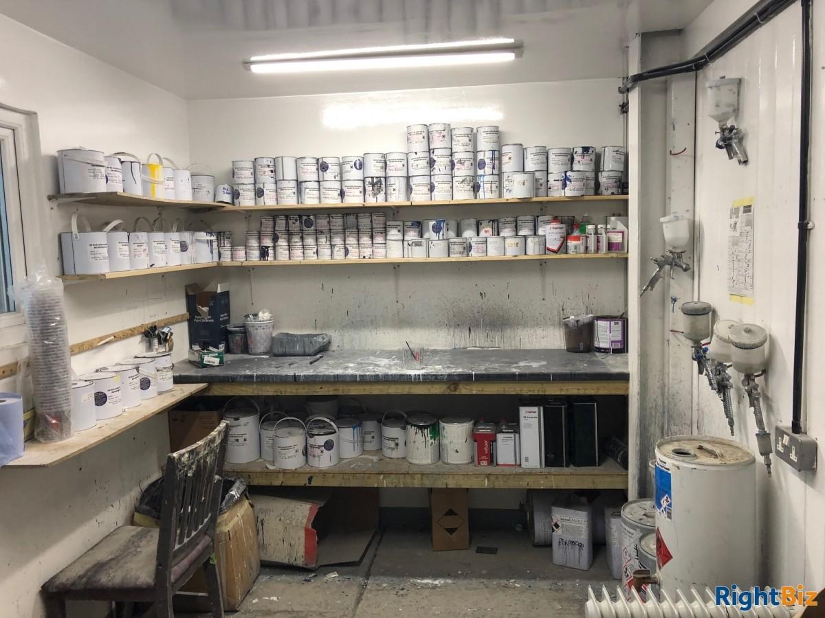 Paint shop & valeting centre for sale - Image 8