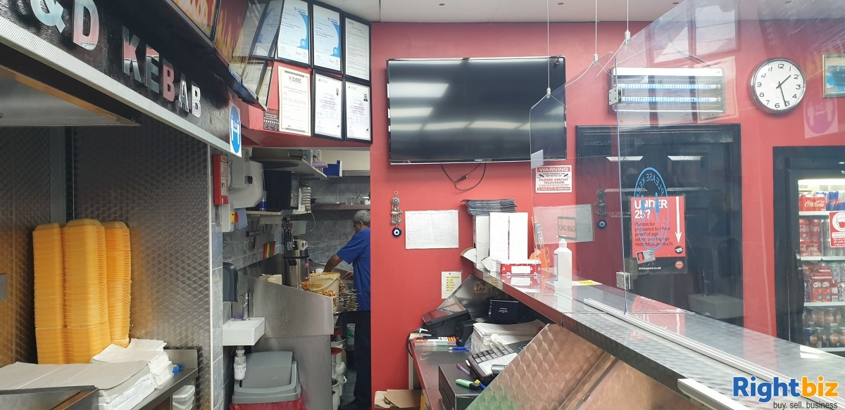Kebab takeaway for sale to rent in London - Image 8